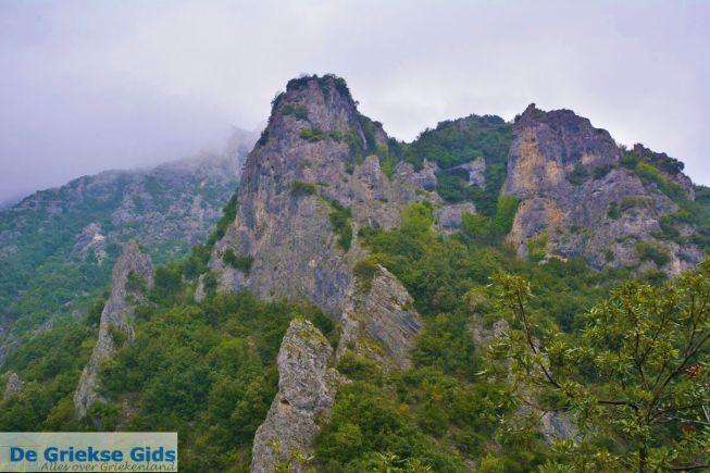 Olympus berg van de Griekse Goden